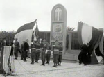 Opening of the French cemetery