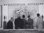 Exhibition of the scale model 'New Rotterdam'